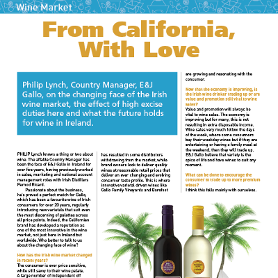 Wine Market: From California, With Love