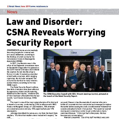CSNA Reveals Worrying Security Report
