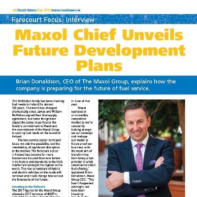 Maxol Chief Unveils Future Development Plans
