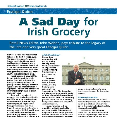 A Sad Day for Irish Grocery