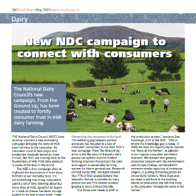 New NDC campaign to connect with consumers