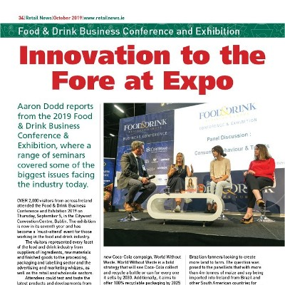 Innovation to the Fore at Expo