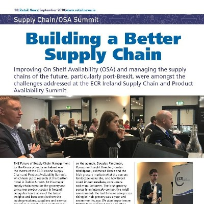 Supply Chain / OSA Summit - Building a Better Supply Chain