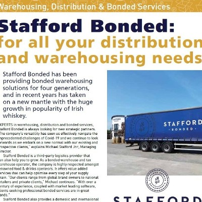 Stafford Bonded: for all your distribution and warehousing needs
