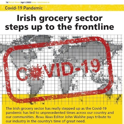 Irish Grocery Steps Up to the Frontline