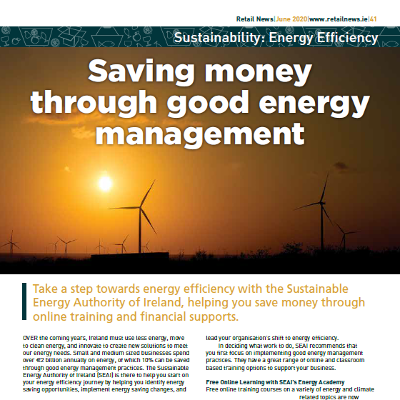 Sustainability Special: Saving Money Through Energy Management with the SEAI