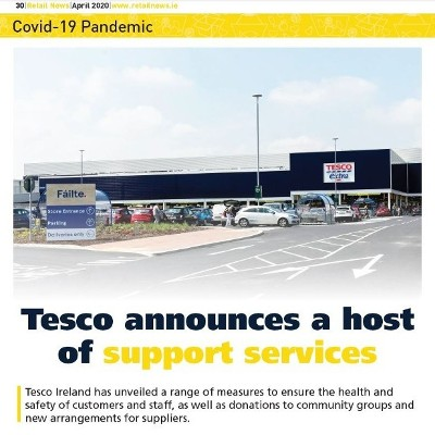 Covid 19 Special: Tesco Announces a Host of Support Services