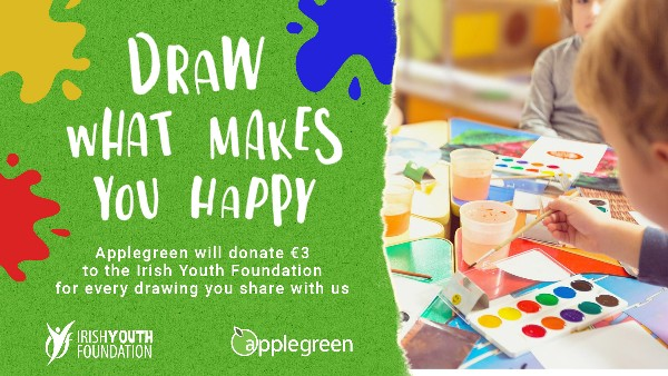 Applegreen launch 'Get Creative for Good'  in aid of the Irish Youth Foundation
