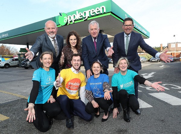 Applegreen Announces New Charity Partnerships for 2020 and 2021