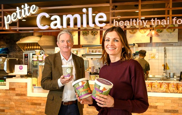 Camile Thai Kitchen launches first Petite Camile format at Circle K's M9 motorway site