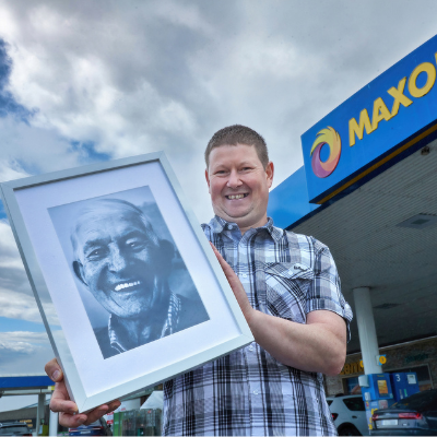 Carlow man Brian Flynn wins runner-up prize in nationwide competition with poignant picture of his late father, Mick Flynn