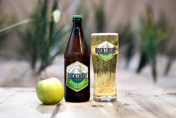 THE BREWERS OF ROCKSHORE LAGER INSPIRED BY THE BRACING REFRESHMENT OF THE ATLANTIC COAST  UNVEIL 'ROCKSHORE APPLE CIDER'