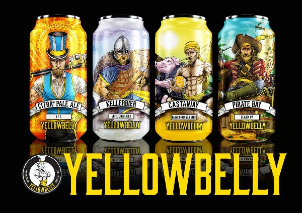 Yellowbelly Beer Partners with ABCD in National Distribution Deal