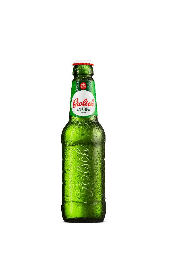 Grolsch Premium Pilsner is back, and it's better than ever