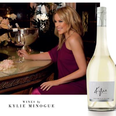 Kylie Minougue Wines launches the Signature Sauvignon Blanc and Merlot