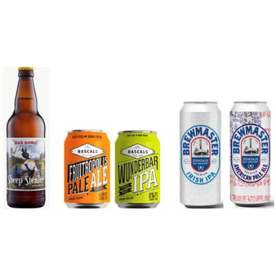 Aldi continues support of small Irish Craft Beer Breweries
