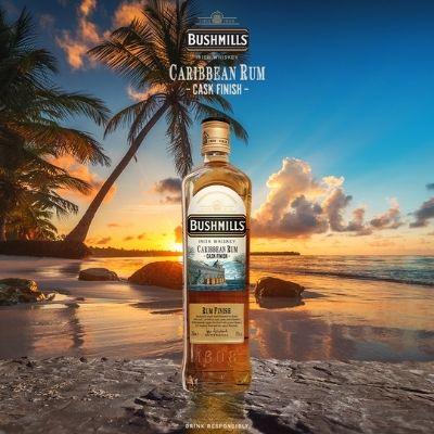 Bushmills Irish Whiskey unveils brand new Caribbean Rum Cask Finish