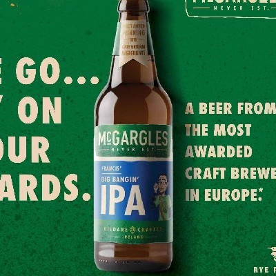 "Rye River Brewing Company becomes the first independent Irish Craft Beer Company to launch out of home advertising campaign  Campaign celebrates ""Europe's most decorated brewery"" with a total of 99 awards"