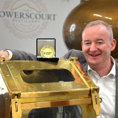 Powerscourt Distillery's Noel Sweeney recognised at Irish Whiskey Association's Chairman's Awards ceremony