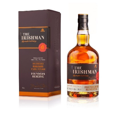 The Irishman Founder's Reserve Gets Sherry for Merry Christmas