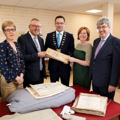 Irish Distillers Donates Power Family Papers to Wexford County Archive